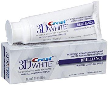 Crest 3D White Brilliance Zahnpasta - Zahnweiß-Zahnpasta