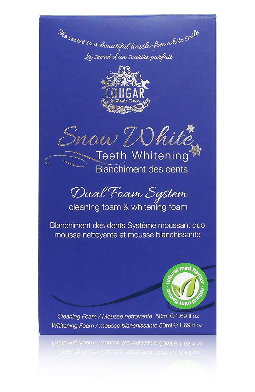 Natürliche Zahnpasta zur Zahnaufhellung - Schaum zur Zahnaufhellung