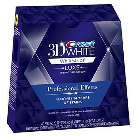 crest professional effects blegningsstrimler - crest whitestrips